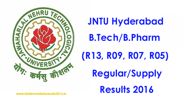 JNTUH R13 2-2 Results 2016