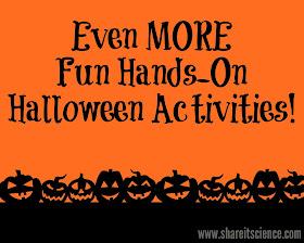 Hands-on Halloween Science STEM Experiments Activities