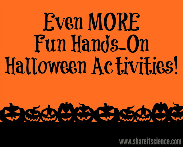 Hands-on Halloween Science STEM Experiments Activities