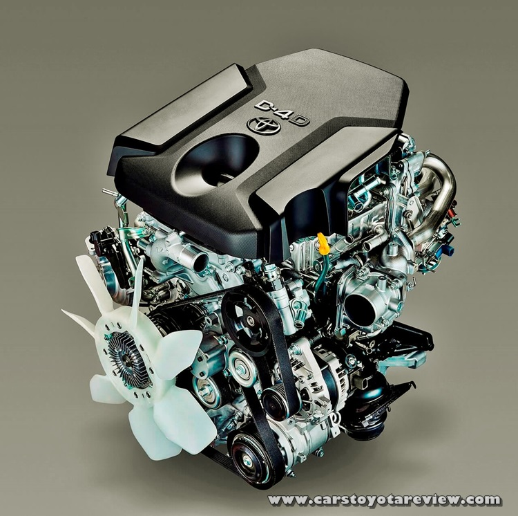 2018 Toyota Hiace Engine