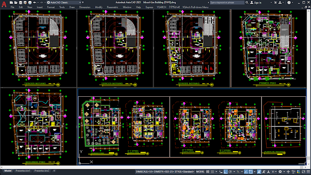 Mixed-Use Building [DWG]