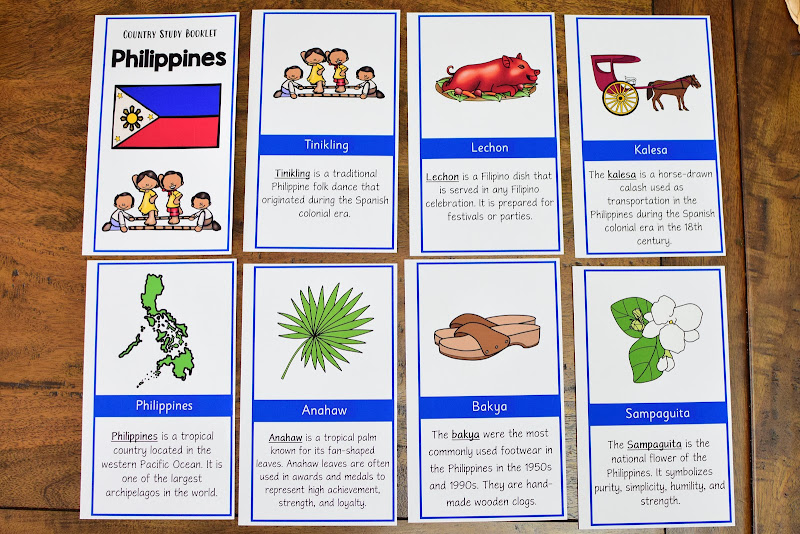 Country Study Philippines: Differentiated Reading Materials