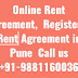 Online Rent Agreement Notory Registration Agreement in Kharadi Pune  Call us +91-9881160036