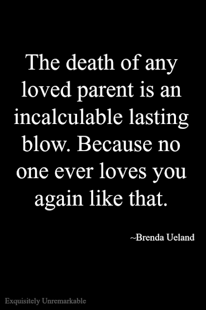 The Death Of Any Loved Parent