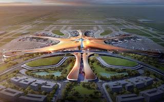 Το μεγαλύτερο αεροδρόμιο στον κόσμο βρίσκεται στην Κίνα