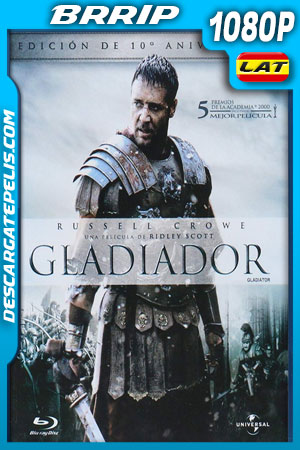 Gladiador (2000) 1080p BRrip Latino – Ingles