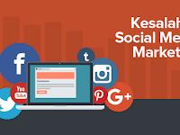 Social Media Marketing #2 : 7 Kesalahan Paling Umum yang Menyebabkan Gagalnya Strategi Pemasaran Social Media