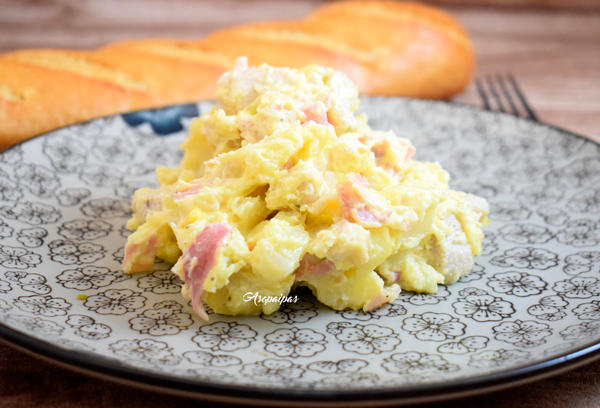 Ensaladilla de Patata y Pollo. Vídeo Receta