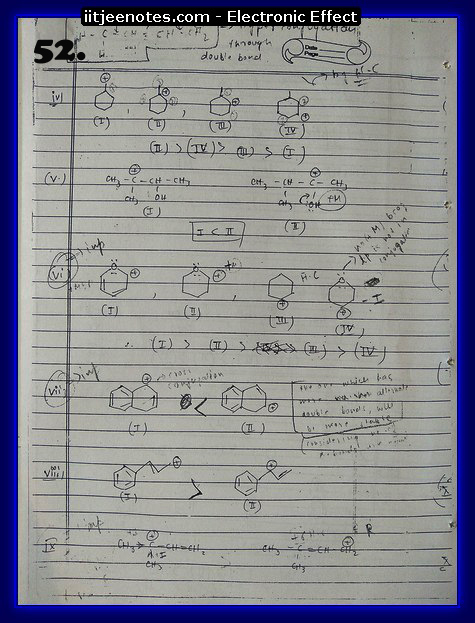 Electronic Effect chemistry7