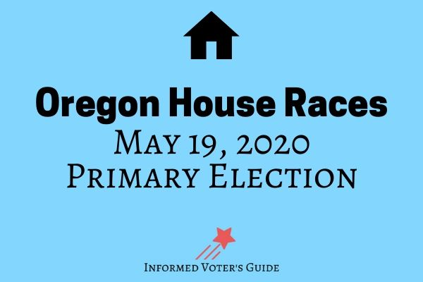 Oregon House of Representatives Voters Guide
