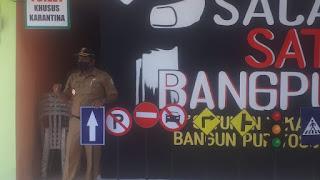 TNI Lumajang Dampingi Kegiatan Sosialisasi Pelopor Berlalulintas Desa Purwosono