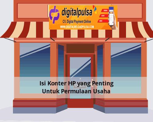 Isi Konter HP yang Penting Untuk Permulaan Usaha
