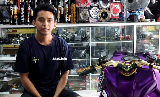 Tips Modifikasi Sepeda motor Jimmy Prokitt Motor Sport Bali