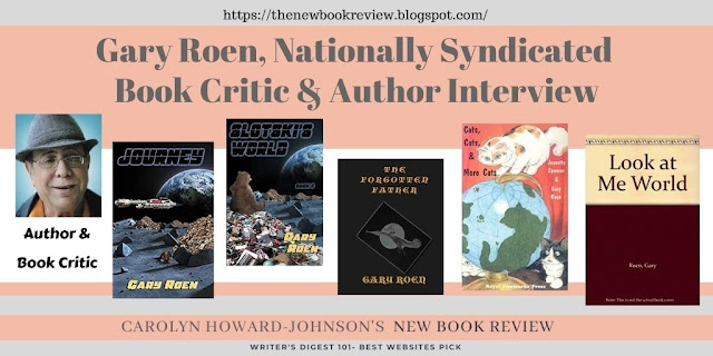Gary Roen Nationally Syndicated Book Critic and Author Interview