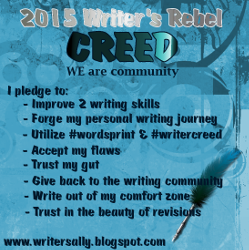 Writer's Creed for 2015