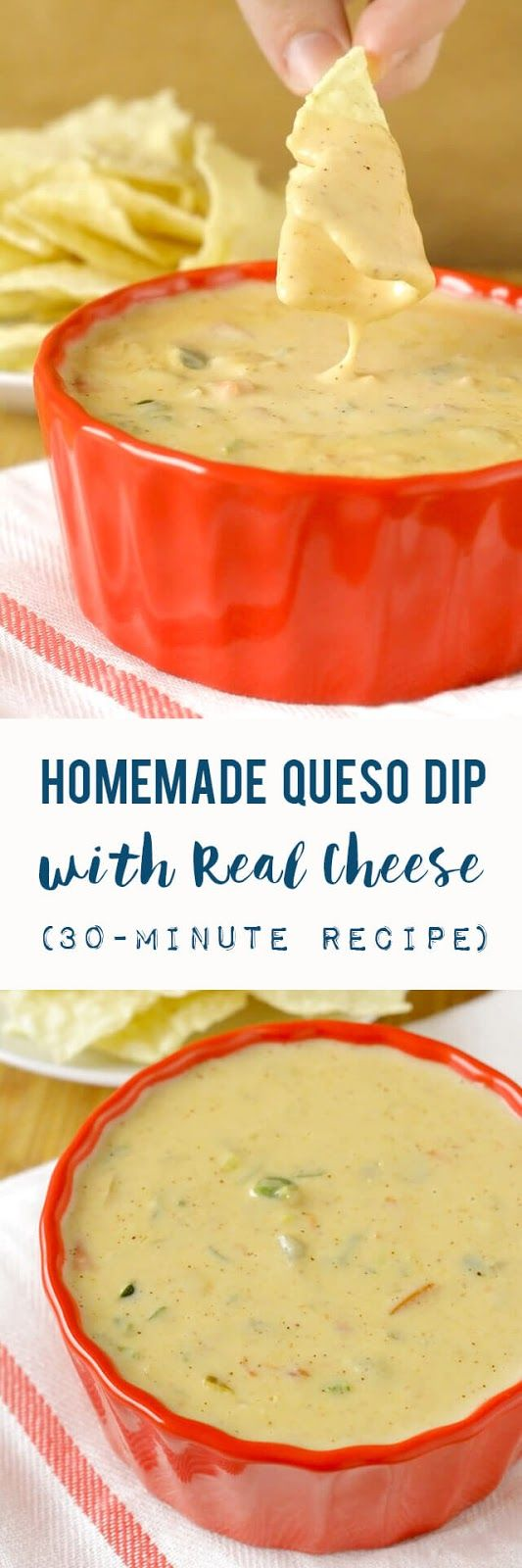 Homemade Queso (Cheese) Dip
