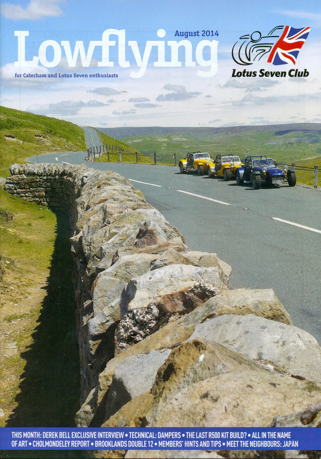 Lowflying Magazine Front Cover - August 2014 Issue