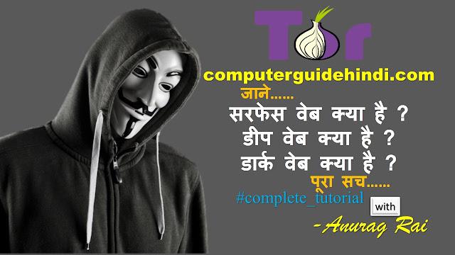 इंटरनेट में सरफेस वेब क्या है ? in hindi, इंटरनेट में डीप वेब क्या है ? in hindi, इंटरनेट में डीप वेब क्या है ?