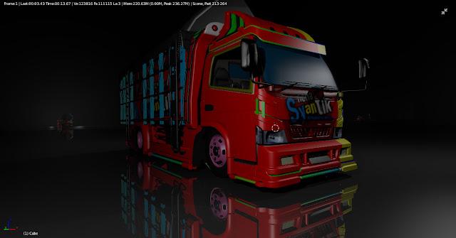 Truck Canter Nona Syantik Full LED