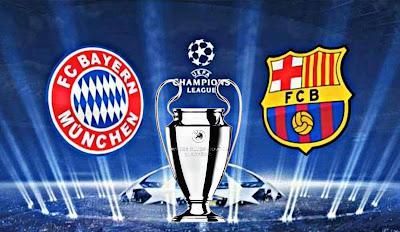 مباراة برشلونة وبايرن ميونخ  تطبيق مشاهدة مباراة برشلونة وبايرن ميونخ على الهواتف الذكية Barcelona vs Bayern Munich