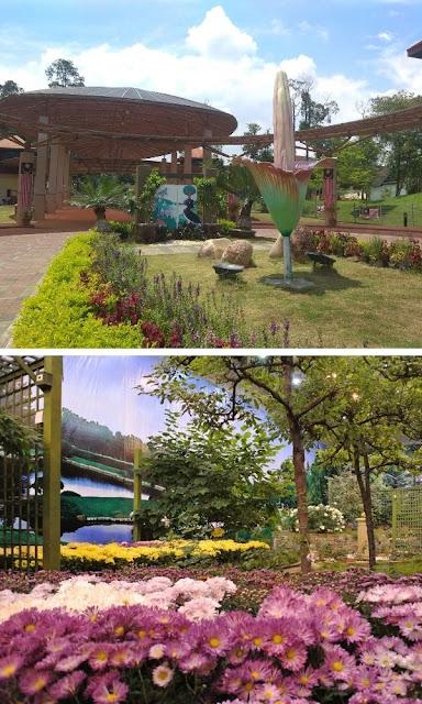 Taman Botani Negara pintu masuk rumah 4 musim