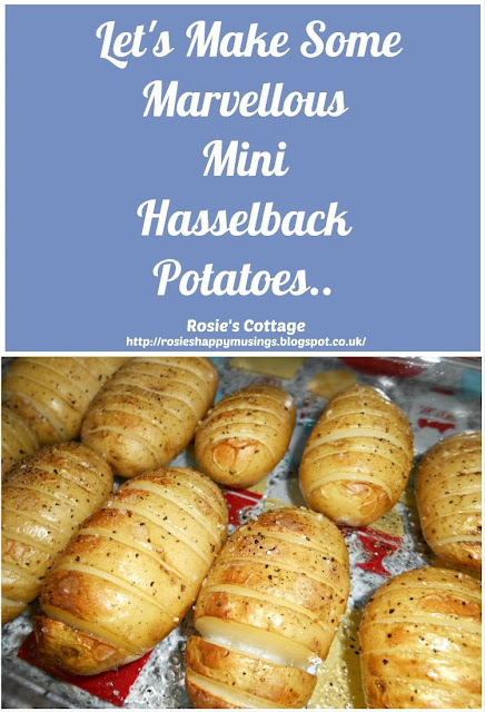Marvellous Mini Hasselback Potatoes - Delicious, super easy to make and a perfect side dish to any meal.