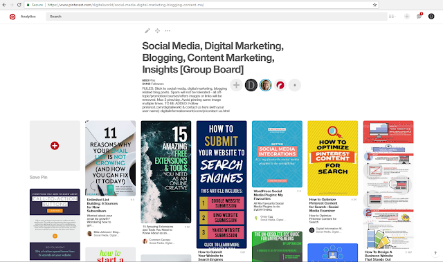 the Bushido of Pinteresting Market Strategy