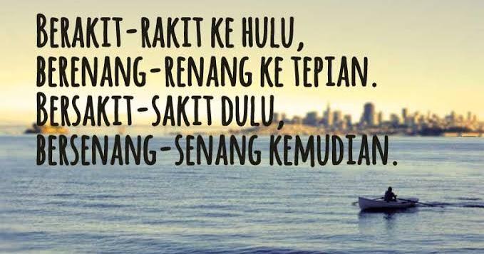 Khabar B Wangsa Be Wise Be Kind Susah Dahulu Senang Kemudian