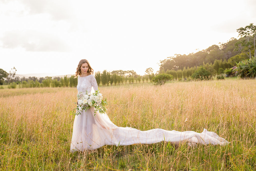 SUNSHINE COAST WEDDING FLORALS MAKEUP HAIRSTYLIST BRIDAL COUTURE