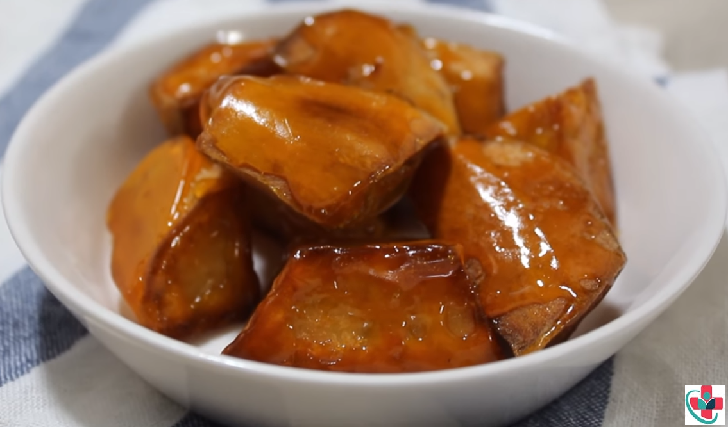 Apple Glazed Sweet Potatoes Recipe