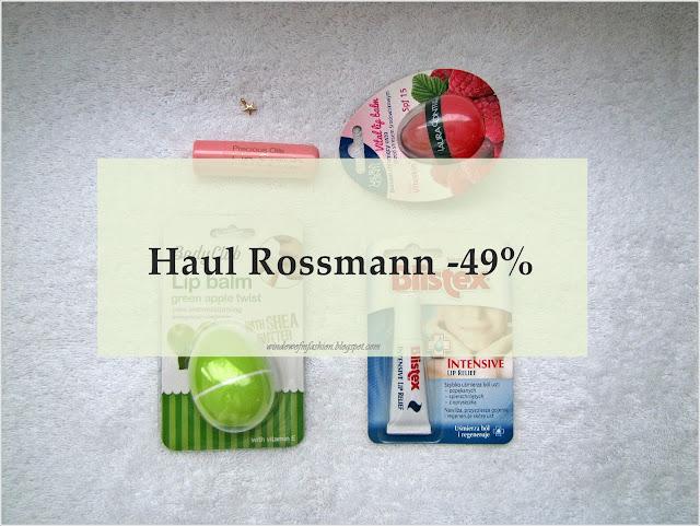Haul Rossmann -49%
