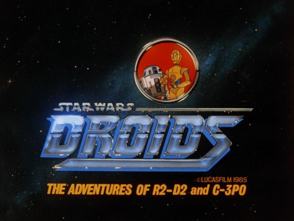 STAR WARS - AVENTURAS ANIMADAS DROIDS / GUERRA NAS ESTRELAS: DROIDS - A SÉRIE COMPLETA (SÉRIE PARA TV/DUAL ÁUDIO/1080P) – 1985–1986 1