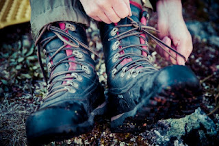Trekking boots for Norway