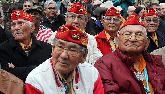 Navajo Veterans Leave for Standing Rock on Dec. 3, 2016