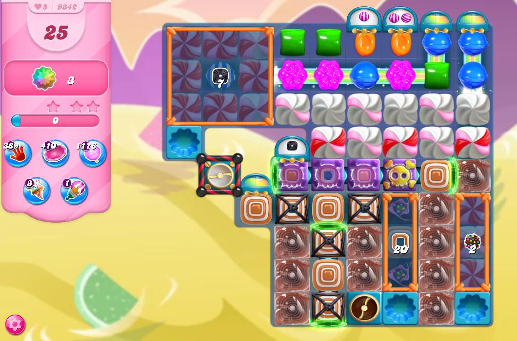 Candy Crush Saga level 9342