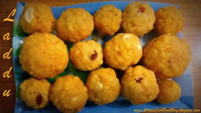 Boondi Laddu Recipe andhra style