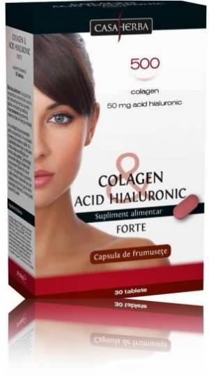 colagen cu acid hialuronic capsula frumusetii)