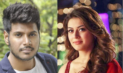 Hero-Sundeep-Kishan-With-Hansika-Andhra-Talkies
