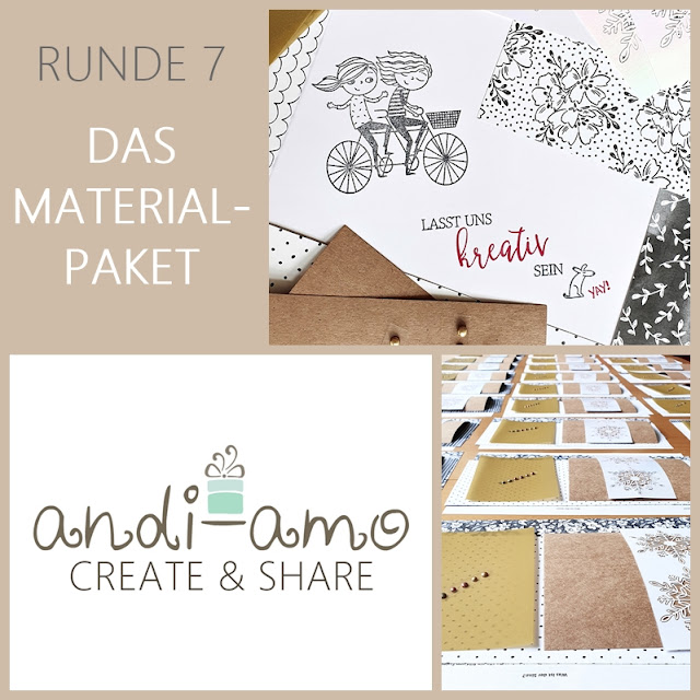 andi-amo Create&Share Nummer 7 Stampin Up
