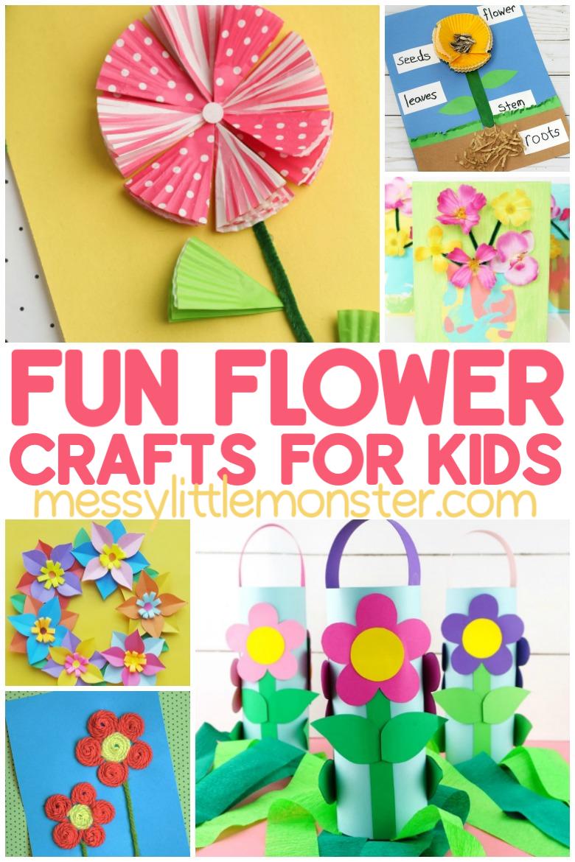 fun flower crafts for kids