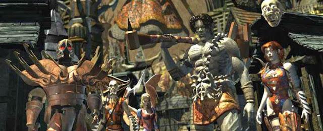 Dungeons & Dragons y los videojuegos - Planescape