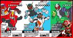 Koleksi Poster Bentuk Skin Kamen Rider Heisei Generations Apabila Dipakai oleh Zero One × Zi-O