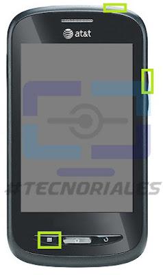 ZTE Z990 entrar en recovery pulsando menú, power y subir volumen