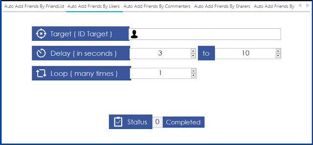 Auto Add Friends By Likers