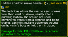 naruto castle defense 6.0  Hidden shadow snake hands detail