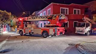 نشوب حريق في منزل عائلة سورية في ولاية صقاريا التركية