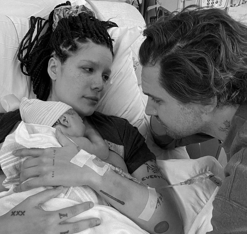 Halsey Welcomes First Baby, Ender Ridley, with Boyfriend Alev Aydin