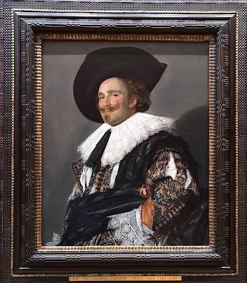 The Laughing Cavalier - by Frans Hals