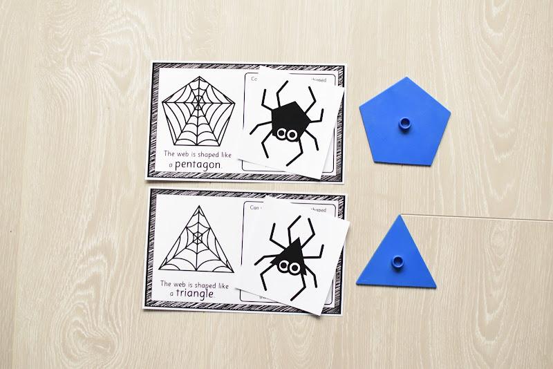 HALLOWEEN THEMED: SPIDER SHAPE MATCH