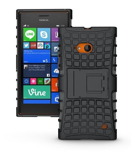 Hybrid Armor Case Nokia Lumia 730 Berkualitas